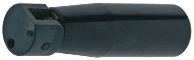 λαβή πτυσσόμενη ø 28mm συνολικό μήκος 110mm ø έδρας 26mm ø άξοναmm σπείρωμα M6  με πείρο