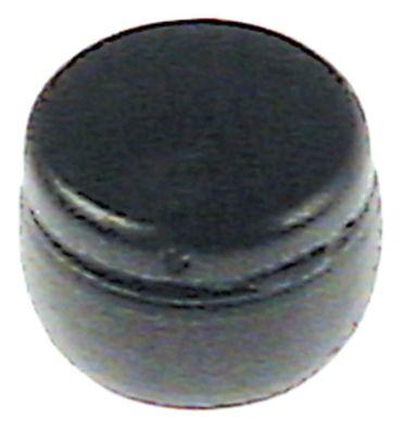 εξάρτημα για γωνία προφυλακτήρα ø 10,7mm Μ 7mm μαύρο Ποσ. 1 τεμ.