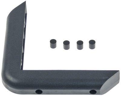 γωνιακός προφυλακτήρας εξωτερικό μήκος 180mm εσωτερικό μήκος 150mm W 30.5mm H 30mm