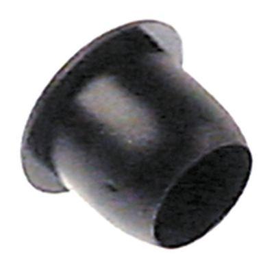 εξάρτημα για γωνία προφυλακτήρα ø 9mm Μ 9.5mm μαύρο Ποσ. 1 τεμ.