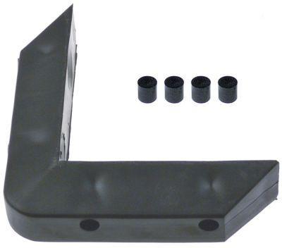 γωνιακός προφυλακτήρας εξωτερικό μήκος 150mm εσωτερικό μήκος 120mm W 30mm H 35mm