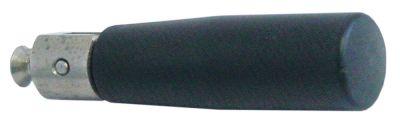 λαβή πτυσσόμενη ø 26mm συνολικό μήκος 100mm ø έδρας 20mm σπείρωμα M6  με πείρο