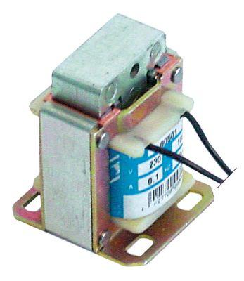 μαγνήτης 230V τάση AC  50/60 Hz κύκλος εργασίας 100% 0,1A