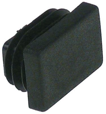 καπάκι Μ 30mm W 20mm Ποσ. 1 τεμ. για τετράγωνους σωλήνες