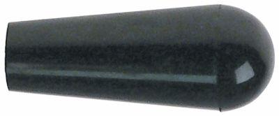λαβή κωνική σπείρωμα M8  ø 25mm Μ 55mm μαύρο