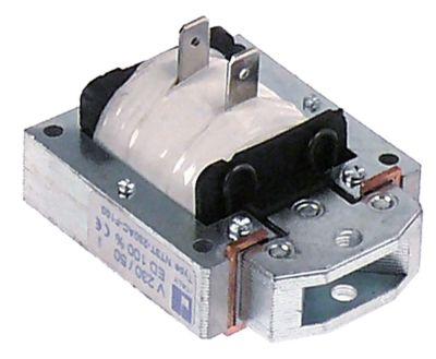 ηλεκτρονικός μαγνήτης 230V 50Hz κύκλος εργασίας 100% Μ 57mm W 46mm H 32mm