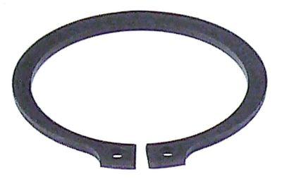 ασφάλεια  ø άξονα 40mm πάχος 1,8mm χάλυβας DIN 471