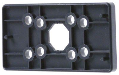 βάση εστίας πάχος 5mm πλαστικό Μ 98mm W 49mm