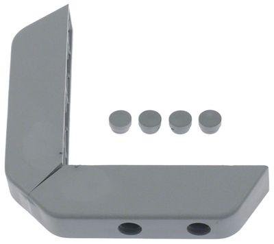 γωνιακός προφυλακτήρας εξωτερικό μήκος 152mm εσωτερικό μήκος 118mm W 35mm H 28mm