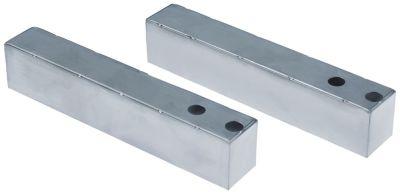 γέφυρα για ψυγείο σαλατών θέση στερ. εξωτερικό Μ 207mm W 35mm H 41mm αλουμίνιο Ποσ. 2 τεμ.