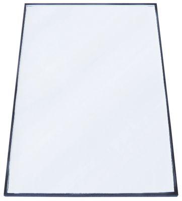 γυάλινη πλάκα Μ 635mm W 390mm πάχος 10mm επίπεδο θέση στερ. πόρτα για οθόνη ψυγείου