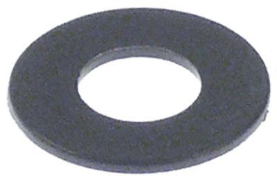 ροδέλες για μεντεσέ ø αναγν. 8mm ΕΞ. ø 18mm πλαστικό πάχος 1mm Ποσ. 1 τεμ.