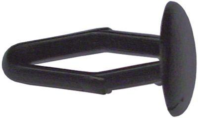 εξάρτημα ø 9mm H 16mm πλαστικό Ποσ. 1 τεμ.