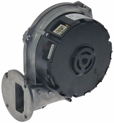 ανεμιστήρας ψύξης 230V τάση AC  50Hz 75W H1 165mm Μ1 170mm ø D1 80mm Π1 80mm Π2 23mm H2 46mm Π3 83mm