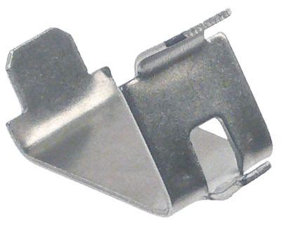 στηρίγματα ραφιού Μ 35/25 mm W 19mm H 25mm Ανοξείδωτο ατσάλι Ποσ. 1 τεμ.