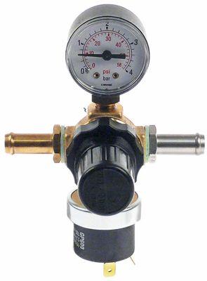 ακροφύσιο έγχυσης με διακόπτη πίεσης, μανόμετρο και ρυθμιστή