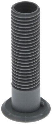 σωλήνας αποχέτευσης ΕΞ. ø 19mm ø αναγν. 15mm H 79mm πλαστικό σπείρωμα M20