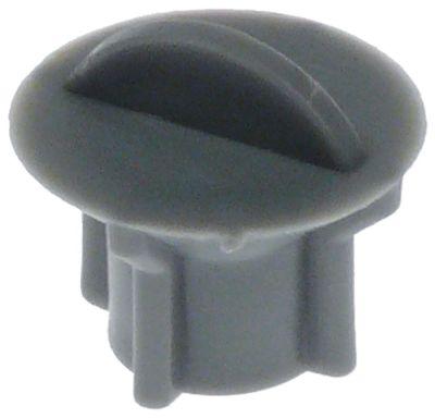 καπάκι για σωλήνα αποστράγγισης ø 20mm ø διάταξης στερέωσης 15mm H 17.5mm πλαστικό