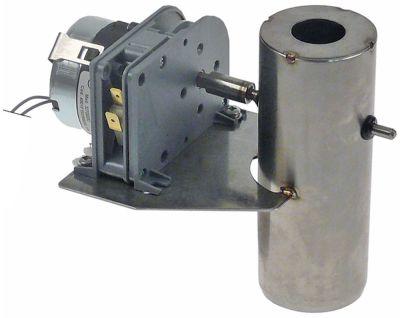 βαλβίδα εξαερισμού συνδυαστικός ατμομάγειρας Μ 135mm W 100mm H 125mm ø 50mm 24VDC V