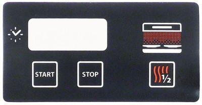 μεμβράνη πληκτρολογίου γκριλ για συσκευή QSE60