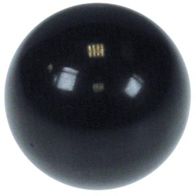 λαβή μπάλα ø 40mm εσωτερική ø κωνικό 12mm για οδήγηση σε μαύρο