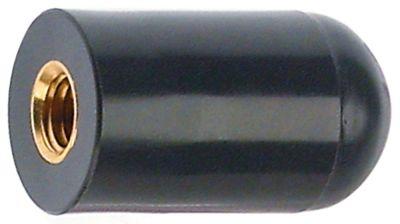 κυλινδρική λαβή σπείρωμα M8  ø 20mm Μ 36mm