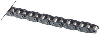 αλυσίδα DIN/ISO 05 B-1  διαχωρισμός 8mm  ενώσεις 41 εσωτερικό πλάτος 3mm øράουλου 5mm απλό