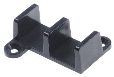 οδηγός συρόμενη πόρτα Μ 54mm πλαστικό διάσταση οδήγησης 20mm