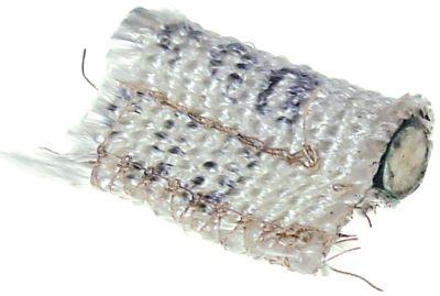 κορδόνι υαλομέταξο ø 15mm Μέγ. Θ 550°C πλεγμένο Μ 5m Ποσ. 1