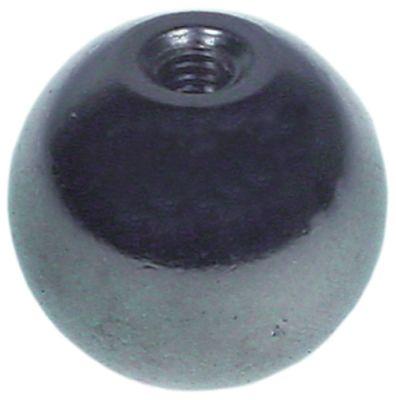 λαβή μπάλα σπείρωμα M4  ø 18mm ανοξείδωτος χάλυβας