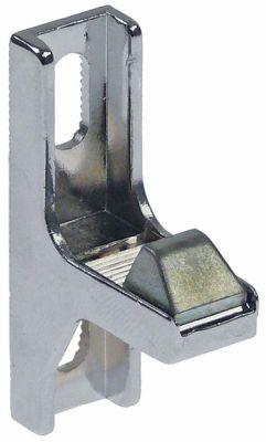 κλείστρο πόρτας Μ 47mm W 14mm H 29mm απόσταση στερέωσης 21-33 mm