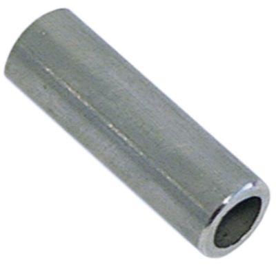 υποδοχή Ανοξείδωτο ατσάλι ø αναγν. 8.2mm ΕΞ. ø 12mm Μ 36mm συρόμενος σωλήνας