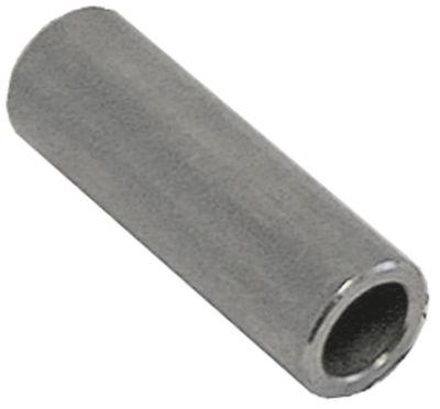 υποδοχή χάλυβας με επίστρωση ψευδαργύρου ø αναγν. 8.2mm ΕΞ. ø 12mm Μ 36mm συρόμενος σωλήνας