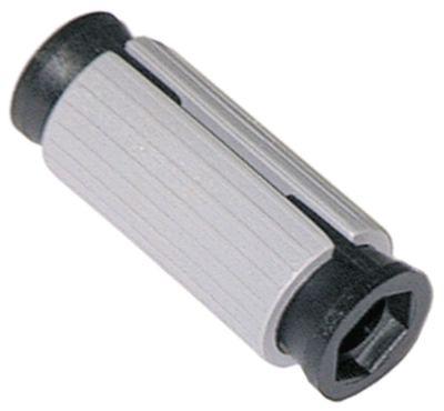 υποδοχή κατάλληλο για στρογγυλοί σωλήνες ΕΞ. ø 25,5 - 28 mm