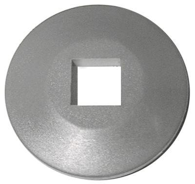 αφαιρούμενος τροχός ΕΞ. ø 99mm ø αναγν. 25x25 mm H 19mm PVC  γκρι