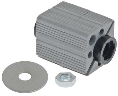 υποδοχή κατάλληλο για τετράγωνοι σωλήνες εξωτερικό μέγεθος 37,5x37,5 - 40x40 mm πολυαμίδιο