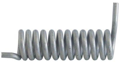 ελατήριο στρέψης ø 26.9mm Μ2 87mm ø διατομής σύρματος 5.1mm Μ1 23mm Μ3 11mm