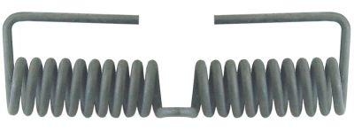 ελατήριο στρέψης ø 22.3mm Μ2 40mm ø διατομής σύρματος 4.1mm Μ1 131mm
