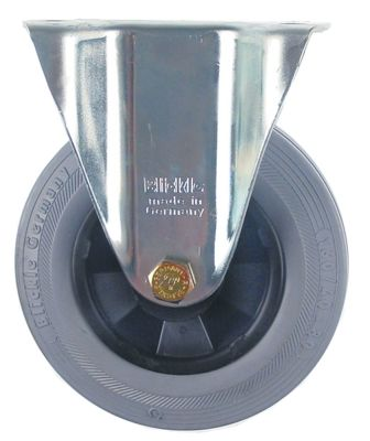 ρόδα βαρύ φορτίου  ø 160mm στερέωση σε πλάκα 135x113mm
