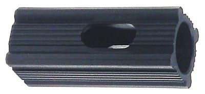 υποδοχή κατάλληλο για τετράγωνοι σωλήνες εξωτερικό μέγεθος 22,5x22,5 mm ø αναγν. 18mm