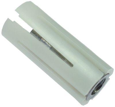 υποδοχή κατάλληλο για στρογγυλοί σωλήνες ΕΞ. ø 21 - 23 mm Μ 47mm πολυαμίδιο ΕΣ M10x1,5