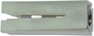 υποδοχή κατάλληλο για τετράγωνοι σωλήνες πολυαμίδιο ΕΞ. ø 18x18 - 20x20 mm M10 IT