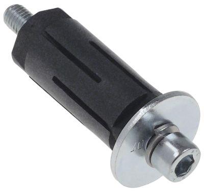 υποδοχή κατάλληλο για στρογγυλοί σωλήνες ΕΞ. ø 27 - 30 mm
