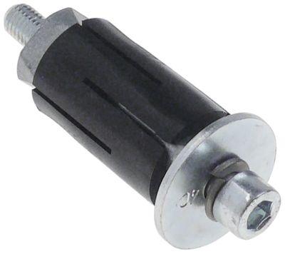 υποδοχή κατάλληλο για στρογγυλοί σωλήνες ΕΞ. ø 31 - 35 mm