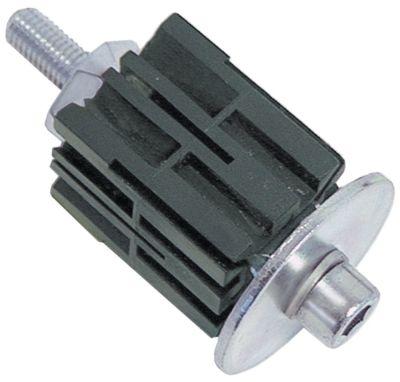 υποδοχή κατάλληλο για τετράγωνοι σωλήνες εξωτερικό μέγεθος 32x32 - 35x35 mm