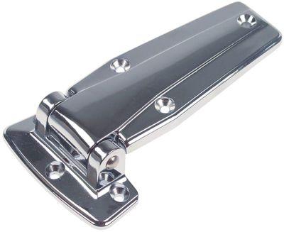 μεντεσές μετατόπιση 22mm συνολικό ύψος 33,5mm τύπος 720 συνολικό μήκος 154mm W 54mm