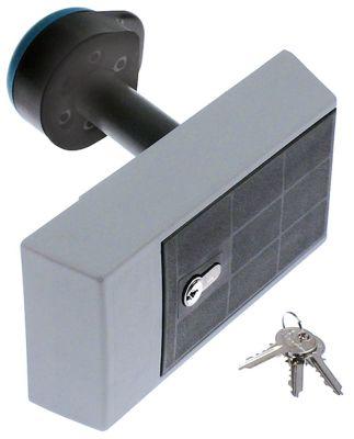 κλείστρο ψυκτικού θαλάμου πάχος πόρτας 100mm τύπος 921HP  Μ 245mm W 108mm H 52.5mm