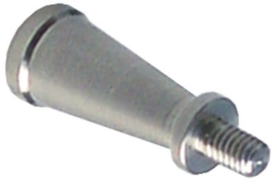 λαβή κωνική μεταλλικό για προστατευτικό φίλτρο φλόγας