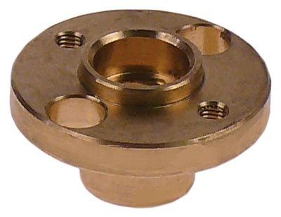 ρουλεμάν ø 44mm για μάνδαλο πόρτας H 23mm ø αναγν. 11mm σπείρωμα M5  ορείχαλκος