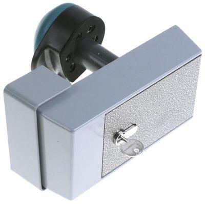 κλείστρο ψυκτικού θαλάμου πάχος πόρτας 30-120 mm με δυνατότητα κλειδώματος τύπος 621 Μ 213mm
